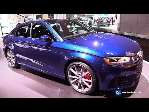 2018 Audi S3 - Exterior and Interior Walkaround - 2018 New York Auto Show