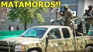 Graban Balacera y Persecución Entre Militares y Sicarios del C.D.G en Matamoros, Tamaulipas
