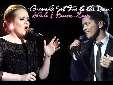 Grenade Set Fire to the Rain - Adele & Bruno Mars Mash-Up