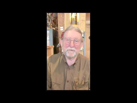 Local historian Richard Hart speaks to libraries