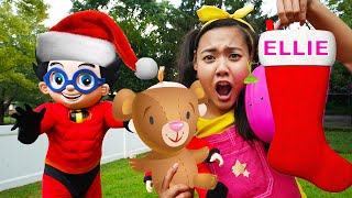Easy Science Experiment for Christmas Tree | Learning Silly Costumes for Children