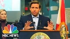 Florida Gov. DeSantis Gives Updates On Coronavirus | NBC News (Live Stream Recording)
