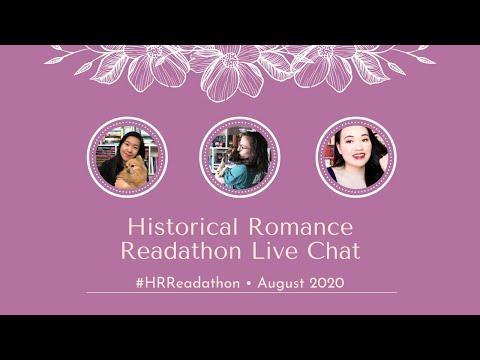 Historical Romance Readathon Live Chat | August 2020 | #HRReadathon