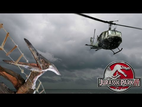 The Truth About The Pteranodon Vs Helicopter Cut Ending Scene From Jurassic Park 3 Explained