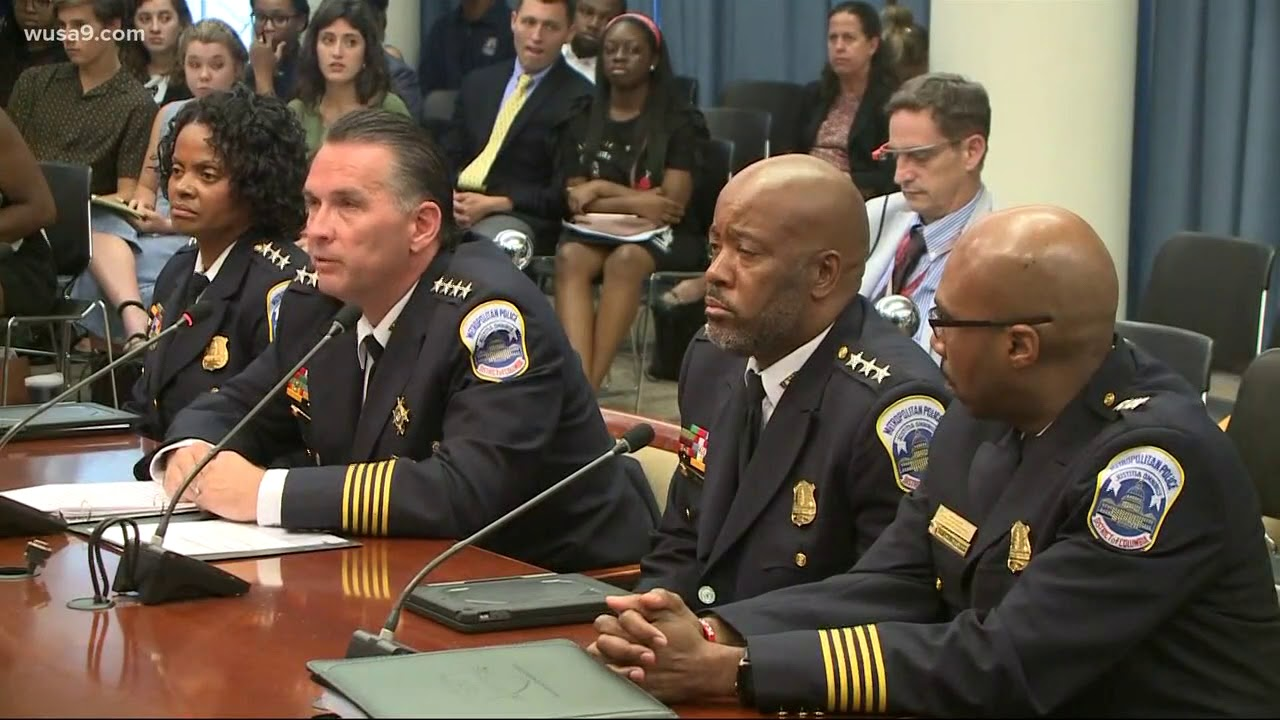 DC Chief Grilled About Gay Demon Cop Molesting Black Male Suspect During Search
