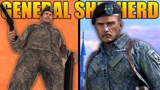 The Full Story of General Shepherd (Modern Warfare Story)
