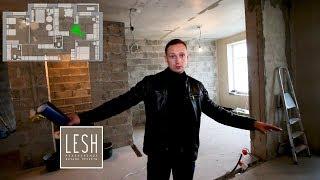 90 kvadrat metr doira Pushkin bilan umumiy nuqtai | LESH interer dizayni