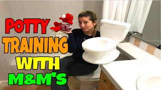 POTTY TRAINING WITH M&M's