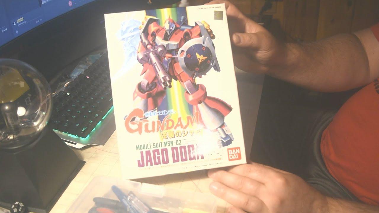 Paint / Review - Vintage Gundam JAGD DOGA - by Bandai