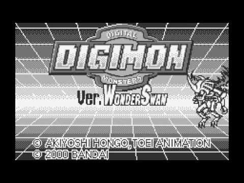 Digimon Digital Monsters vpet simulator WonderSwan