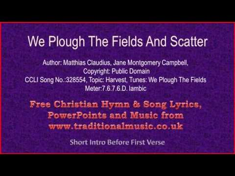we plough the fields and scatter mp3