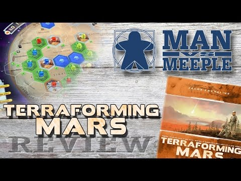 Terraforming Mars (Stronghold Games) Review by Man Vs Meeple