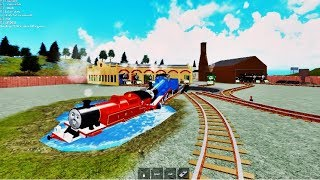 Thomas And Friends The Cool Beans Railway Two crashes 2 Roblox