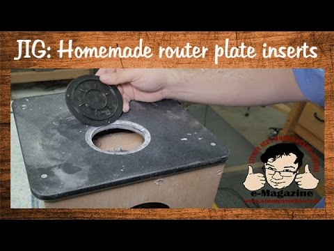 Homemade router lift upgrade adding a throat insert youtube greentooth Image collections