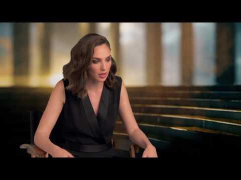 "Wonder Woman: Gal Gadot ""Diana"" Behind the Scenes Movie Interview"