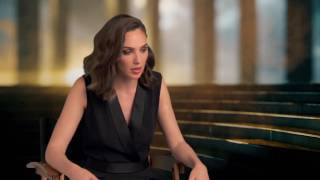 "Wonder Woman: Gal Gadot ""Diana"" Behind the Scenes Movie Interview"