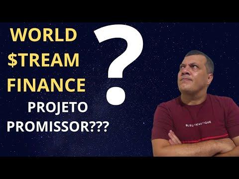 CRIPTOMOEDA WORLD STREAM FINANCE PROJETO  BRASILEIRO - SCAM OU PROMESSA? O TEMPO  MOSTRARÁ A VERDADE