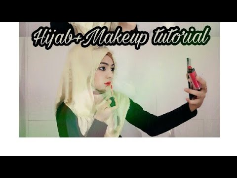 Most beautiful Makeup online and Hijab style..make up plus hijab for eid and any function