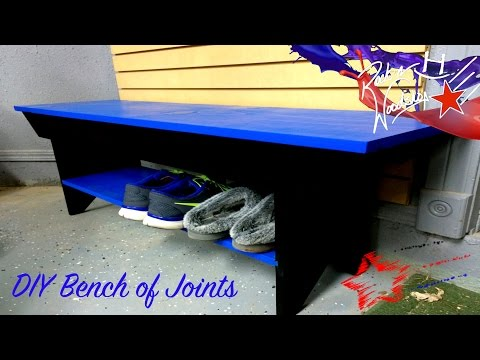 DIY Bench of Joints