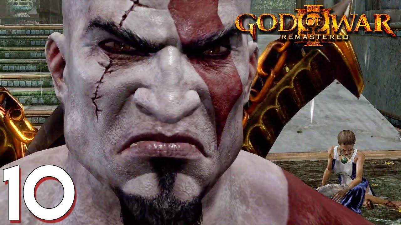 ថាកុំអោយបងKratosខឹង ចឹងស្លាប់ចុះ - God of War III Remastered Story Mode Ep10 Khmer|VPROGAME