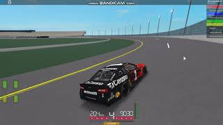 Roblox Nascar '18 Daytona gameplay