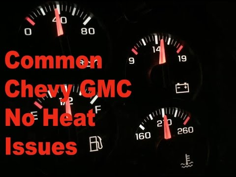 chevy silverado tahoe gmc sierra yukon no heat diagnosis youtube chevy silverado tahoe gmc sierra yukon no heat diagnosis
