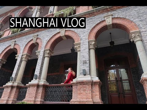 Shanghai Vlog | Exploring the beautiful French Concession area - Annabelle Claire