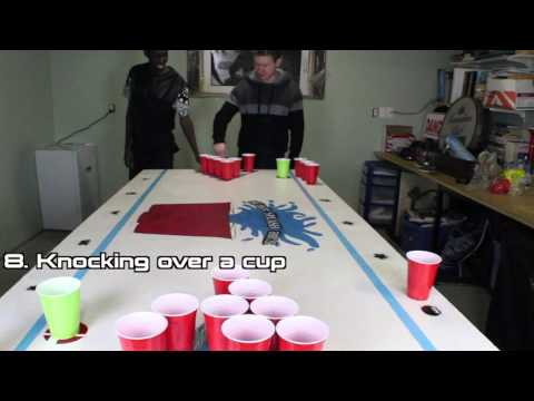 HOW TO PLAY BEER PONG!!!(The Super Splash Bros Rules)