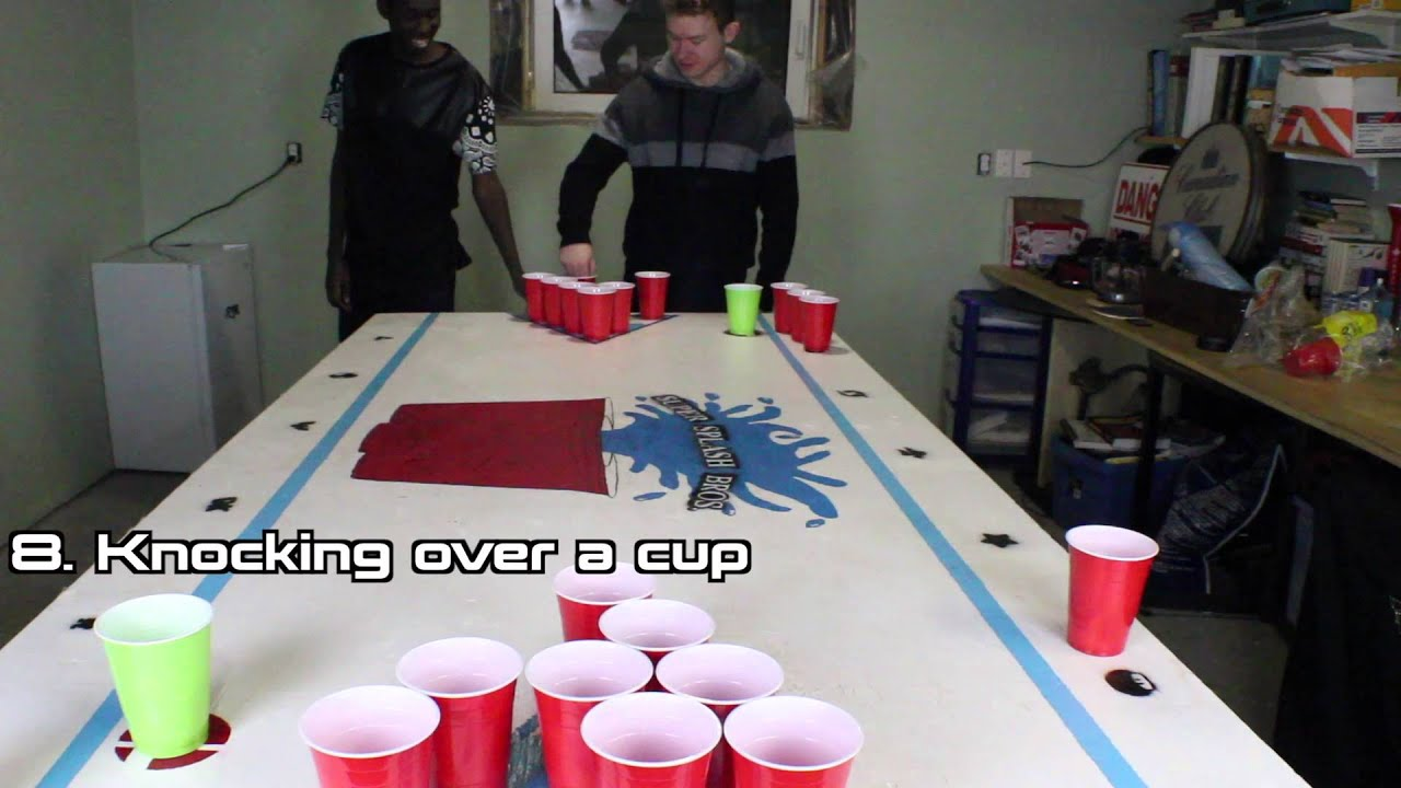How To Play Beer Pong The Super Splash Bros Rules Youtube