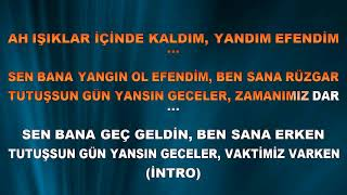 Koray Avc- Hoş Geldin-karaoke