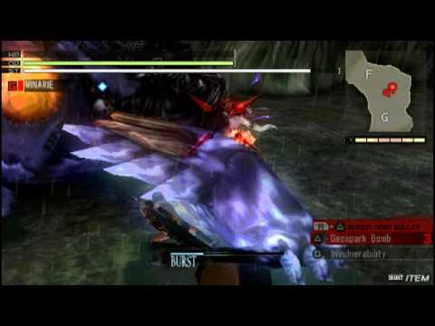 Gods Eater Burst Secret Techniques - Charge Crush Combo [Beauty's End - SSS+ (3:55)]
