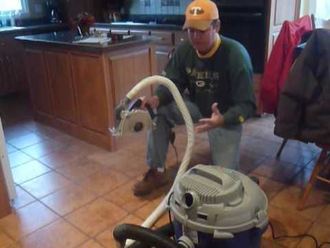 How To Remove Grout with Dustless Ecocutter ToolBest