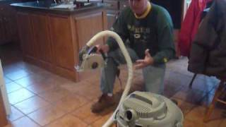 How To Remove Grout with Dustless Ecocutter Tool...Best!!!!