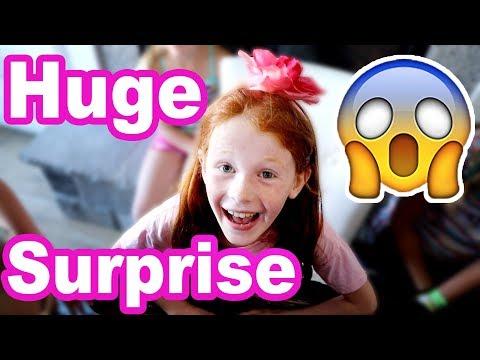 HUGE Birthday Surprise!!! Ambree's 8th Birthday! (cute)