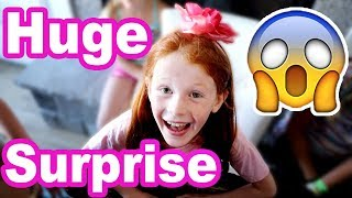 HUGE Birthday Surprise!!! Ambree's 8th Birthday! (cute)