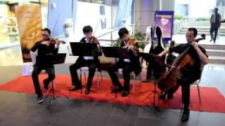 Qin String Quartet @ Cyberport Arcade on 18 & 25 April,2010.