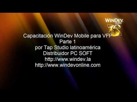 WinDev Mobile Curso 1