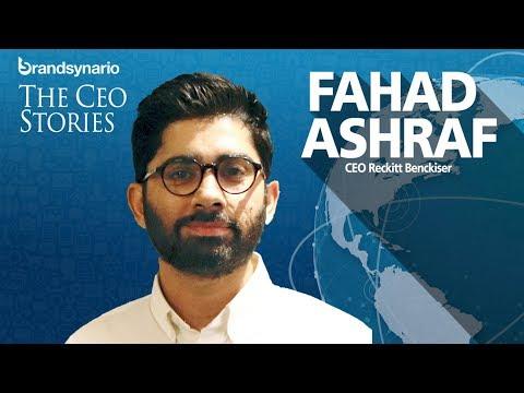 """CEO On The Spot"" with Fahad Ashraf, CEO Reckitt Benckiser."