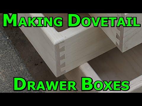 Making Dovetail Drawer
