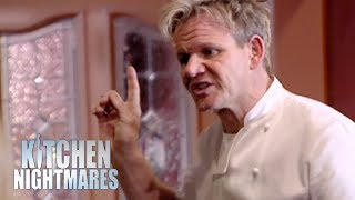 Ramsay Pushes Couple To Finally Clean Their Kitchen | Kitchen Nightmares