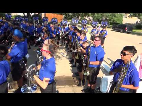 Hebron HS Band March-a-Thon 9/9/2017