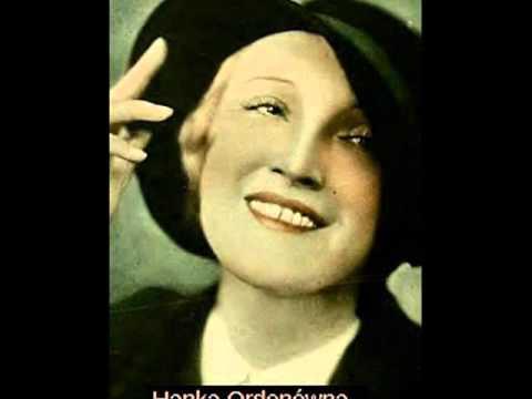 Hanka Ordonówna - Miłość ci wszystko wybaczy, 1933