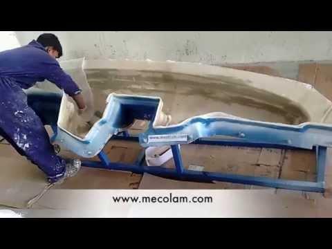 fibreglass dashboard moulding