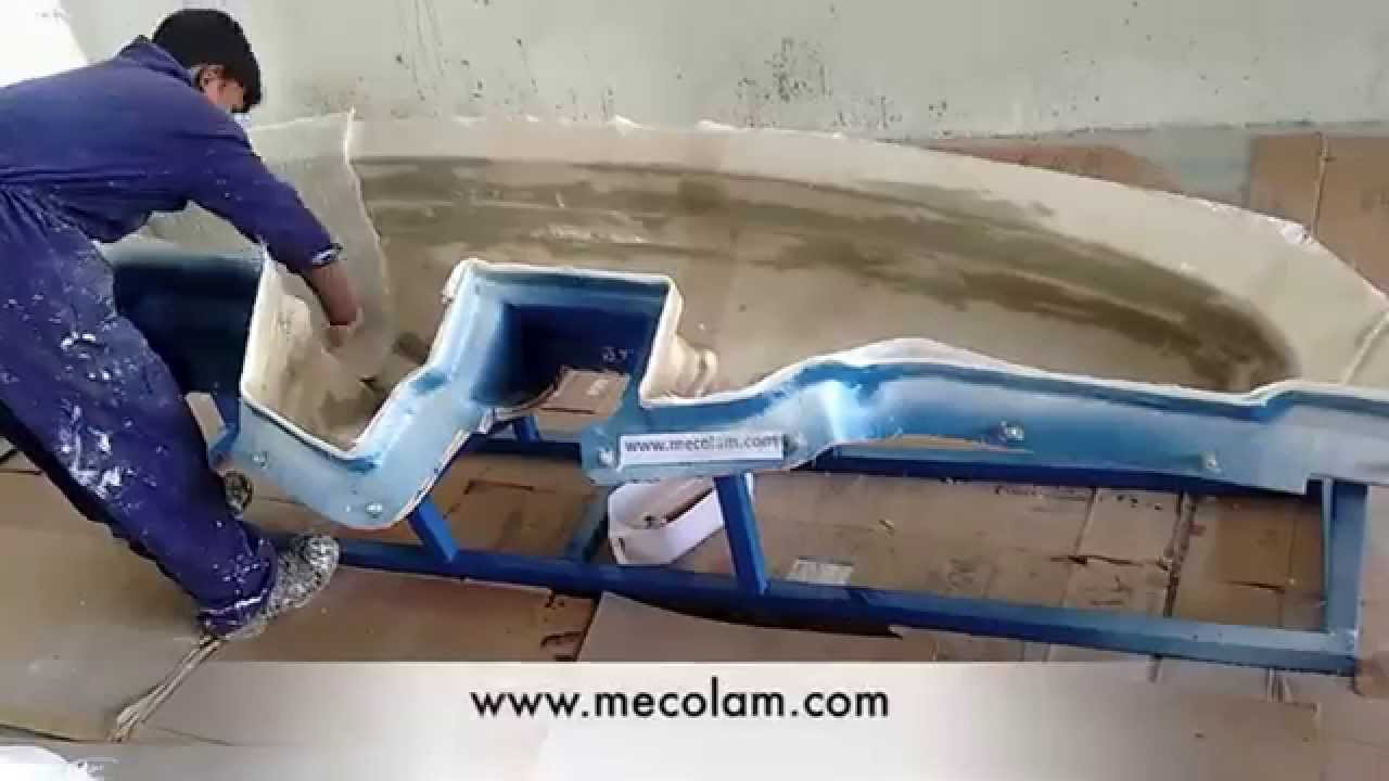 How To Get Mold Out Of A Car >> fibreglass dashboard moulding - YouTube