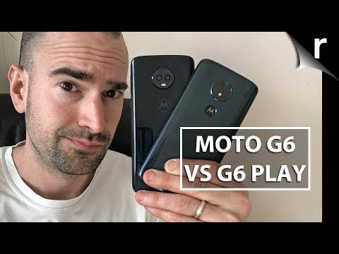 Moto G6 Vs G6 Play: Side-by-side Comparison