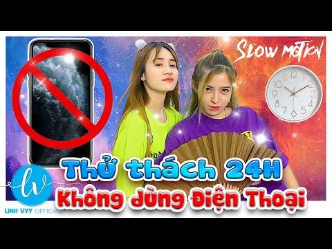 Thử Thách 24h Không Dùng Điện Thoại I Linh Vyy Official @Vê Vê Channel @Linh Barbie