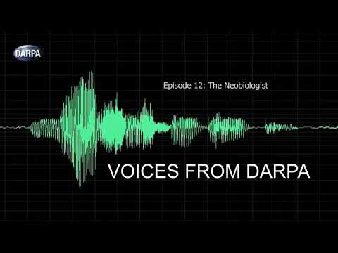 """Voices from DARPA"" Podcast, Episode 12: The Neobiologist"