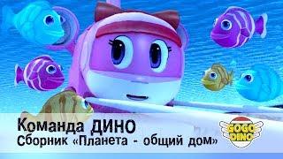 Команда ДИНО - Сборник - Планета - общий дом. Развивающий мультфильм для детей