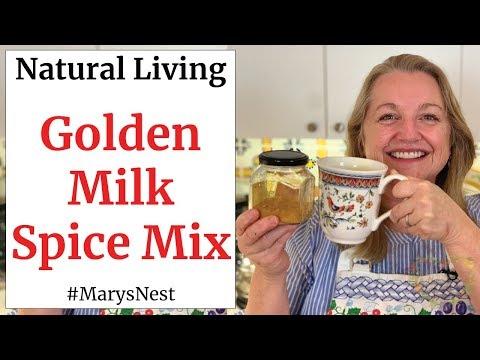Turmeric Golden Milk Spice Mix Recipe