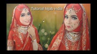 Tutorial Hijab Pengantin India Jaman Now 2018 Wedding India Youtube